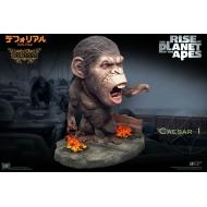 La Planète des singes : Les Origines - Statuette Deform Real Series Soft Vinyl Caesar Chain Ver. Deluxe