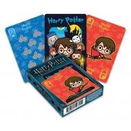 Harry Potter - Jeu de cartes à jouer Chibi