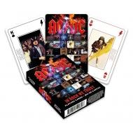 AC/DC - Jeu de cartes à jouer In Rock We Trust