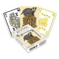 Harry Potter - Jeu de cartes à jouer Poufsouffle