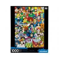DC Comics - Puzzle Retro Cast (1000 pièces)