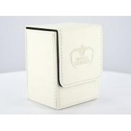 Ultimate Guard - Boîte pour cartes Flip Deck Case 80+ taille standard Blanc