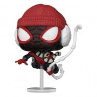 Marvel's Spider-Man - Figurine POP! Miles Morales Winter Suit 9 cm