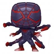 Marvel's Spider-Man - Figurine POP! Miles Morales PM Suit 9 cm