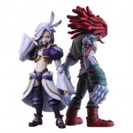 Final Fantasy IX - Figurines Bring Arts Kuja & Amarant Coral 16 - 18 cm