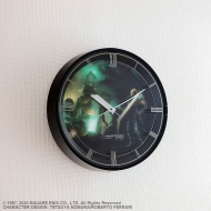 Final Fantasy VII Remake - Horloge murale avec fonction alarme Cloud Model