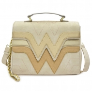 Wonder Woman - Sac à bandoulière Golden Logo by Loungefly