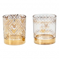 Disney - Pack 2 verres Tumbler Gold Mickey