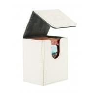 Ultimate Guard - Boîte pour cartes Flip Deck Case 80+ taille standard XenoSkin Blanc