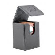 Ultimate Guard - Boîte pour cartes Flip Deck Case 80+ taille standard XenoSkin Gris