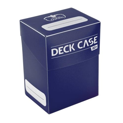 Ultimate Guard - Boîte pour cartes Deck Case 80+ taille standard Bleu