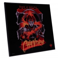 Magic the Gathering - Décoration murale Crystal Clear Picture Chandra 32 x 32 cm