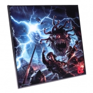 Dungeons & Dragons - Décoration murale Crystal Clear Picture Monster Manual 32 x 32 cm