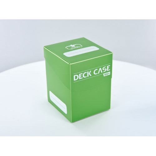Ultimate Guard - Boîte pour cartes Deck Case 100+ taille standard Vert