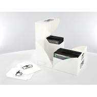 Ultimate Guard - Boîte pour cartes Twin Deck Case 160+ taille standard Blanc