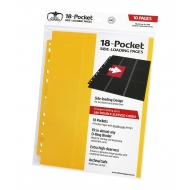 Ultimate Guard - Pages 18-Pocket Side-Loading Jaune (10)