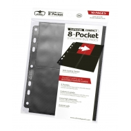 Ultimate Guard - 8-Pocket Compact Pages Side-Loading Noir (10)