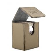 Ultimate Guard - Boîte pour cartes Flip Deck Case 80+ taille standard XenoSkin Sable