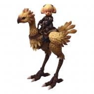 Final Fantasy XI  Figurines Bring Arts Shantotto & Chocobo 8 - 18 cm
