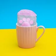 Pusheen - Mug avec paire de chaussettes Pink Cupcake