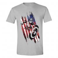 Avengers (Marvel) - T-Shirt Captain America Streaks