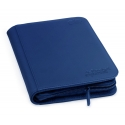 Ultimate Guard - 4-Pocket ZipFolio XenoSkin Bleu