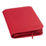 Ultimate Guard - 4-Pocket ZipFolio XenoSkin Rouge