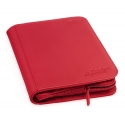 Ultimate Guard - 4-Pocket ZipFolio XenoSkin Rouge