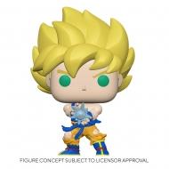 Dragon Ball Z - Figurine POP! SS Goku w/ Kamehameha Wave 9 cm