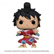 One Piece - Figurine POP! Luffy in Kimono 9 cm
