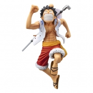 One Piece - Statuette magazine Monkey D. Luffy Special Color Version 17 cm
