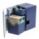 Ultimate Guard - Boîte pour cartes Flip'n'Tray Deck Case 100+ taille standard XenoSkin Bleu