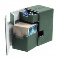 Ultimate Guard - Boîte pour cartes Flip'n'Tray Deck Case 100+ taille standard XenoSkin Vert