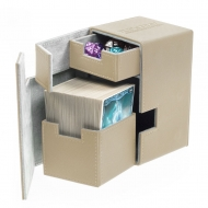 Ultimate Guard - Boîte pour cartes Flip'n'Tray Deck Case 100+ taille standard XenoSkin Sable