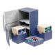 Ultimate Guard - Boîte pour cartes Twin Flip'n'Tray Deck Case 200+ taille standard XenoSkin Bleu