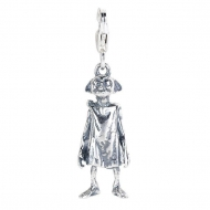 Harry Potter - Charm argent Clip-On Dobby l'elfe de maison (argent sterling)