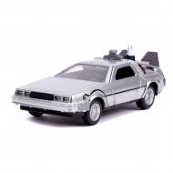 Retour vers le Futur II - Réplique métal DeLorean Time Machine 1/32 Hollywood Rides