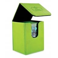 Ultimate Guard - Boîte pour cartes Flip Deck Case 100+ taille standard Vert
