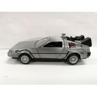 Retour vers le Futur - Réplique métal DeLorean Time Machine 1/32 Hollywood Rides