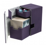 Ultimate Guard - Boîte pour cartes Flip'n'Tray Deck Case 100+ taille standard XenoSkin Violet