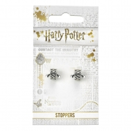 Harry Potter - Pack 2 breloques plaquées argent Reliques de la Mort