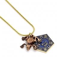 Harry Potter - Pendentif et collier plaqués or Chocogrenouille