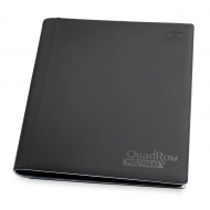 Ultimate Guard - 12-Pocket QuadRow Portfolio XenoSkin Noir