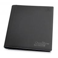 Ultimate Guard - 12-Pocket QuadRow Portfolio XenoSkin Noir
