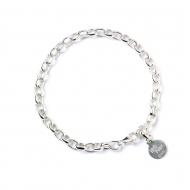 Harry Potter - Bracelet argent Branded Charm 21 cm