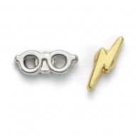 Harry Potter - Boucles d'oreille Éclair & lunettes