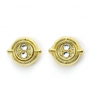Harry Potter - Boucles d'oreille Time Turner (plaquées or)
