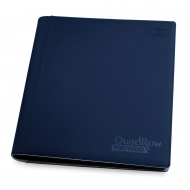 Ultimate Guard - 12-Pocket QuadRow Portfolio XenoSkin Bleu Marine
