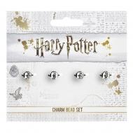 Harry Potter - Pack 4 breloques plaquées argent Sorts
