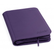 Ultimate Guard - 4-Pocket ZipFolio XenoSkin Violet